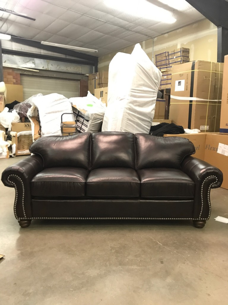 Flexsteel bexley sofa flexsteel 8648 bexley sofa group with nails thesofa - The living room great falls mt ...